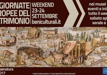 Giornate Europee del patrimonio – sabato 23 e domenica 24 settembre